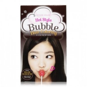 Hot Style Bubble Hair Coloring ( Dark Choco Tone Down)