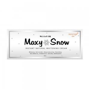 Maxy Snow Natural Whitening Cream (50 ml)
