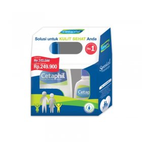 Cetaphil Family Pack (500ml + 125ml)