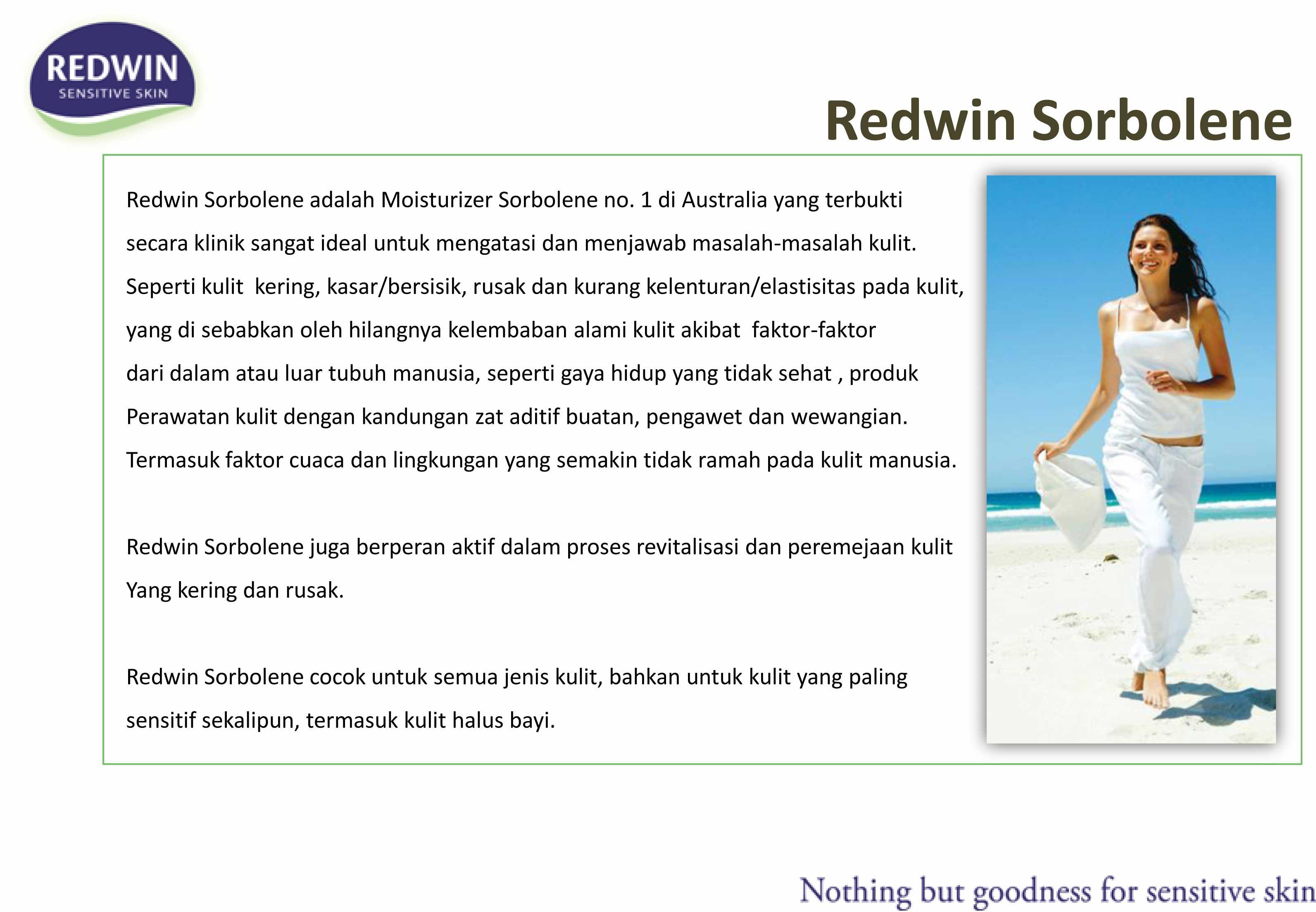 Redwin - Sorbolene Moisturiser w/ Vit E (Choose Size)